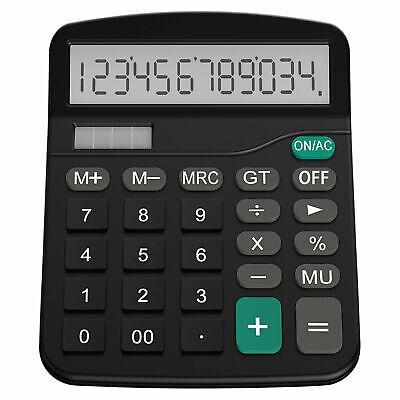 Helect Desk Calculator 12-Digit Desktop Calculator with