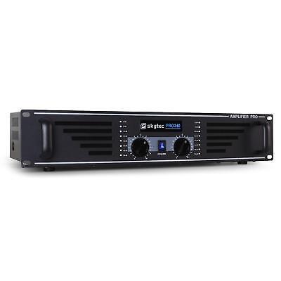 (RICONDIZIONATO) AMPLIFICATORE FINALE SKYTEC PRO 240 DJ PA 480W PROFESSIONALE AU