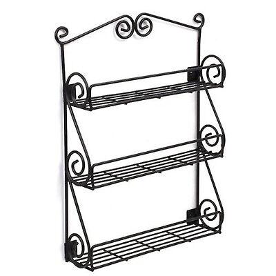Spice Rack Wall Mount Spices Shelf Kitchen ...