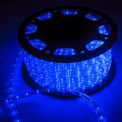 150FT LED Line Light Home In/Outdoor Christmas Decorative Party Blue 1620LEDS
