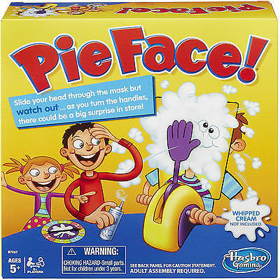 2016 Hot Toy  Pie Face Board Game Family Adult Kids Children Funny Rocket Games