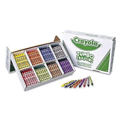 Crayola Jumbo Classpack Crayons 25 Each Of 8 Colors 200/s...