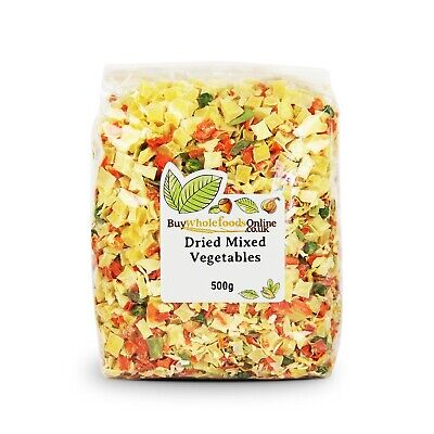 Dried Vegetables Mixed 500g   Buy Whole Foods Online   Free UK P&P
