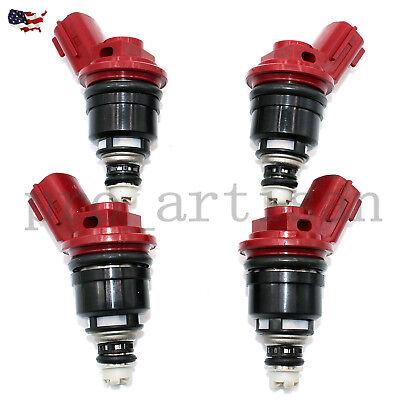 4 x 850cc fuel injectors JECS for Nismo Nissan Silvia 200sx S13 S14 S15 SR20DET