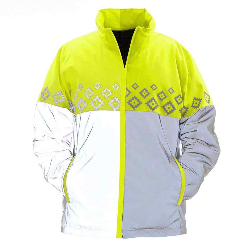 Equisafety Luminosa Kids Safety Wear Reflective Jacket - Yellow One Size