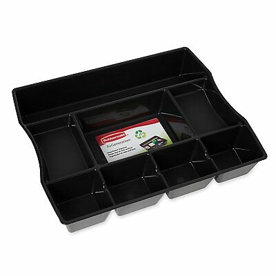 Rubbermaid Regeneration Recycled Deep Drawer Tray Desk Organizer 8 Compartment