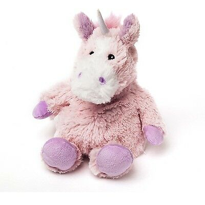 Intelex Cozy Plush Medium Unicorn Fully Microwavable Heatable Bed Time Warmer