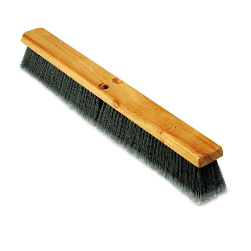"Boardwalk Floor Brush Head 3"" Gray Flagged Polypropylene 24"" 20424"