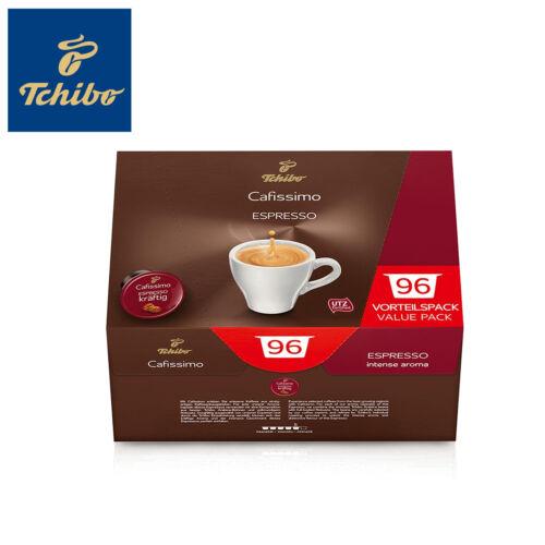 Tchibo Cafissimo 96er Kapseln Vorrats Box Espresso kräftig Intensität: 5