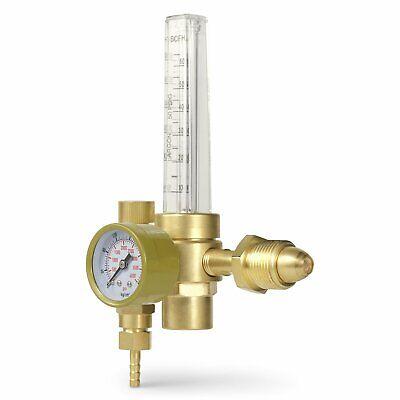 Sparc Argon Co2 Mig Tig Flow Meter Regulator Welding 10 To 60 Cfh Cga580 Inlet