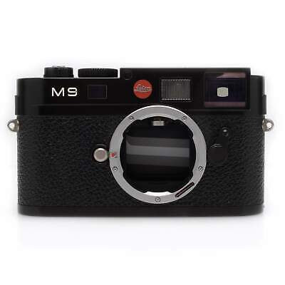 Leica M9 Black Digital Rangefinder Camera 4.5k Act Boxed for sale  Shipping to India