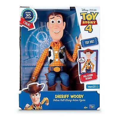 Toy Story 4 Sheriff Woody New Talking Figure 16