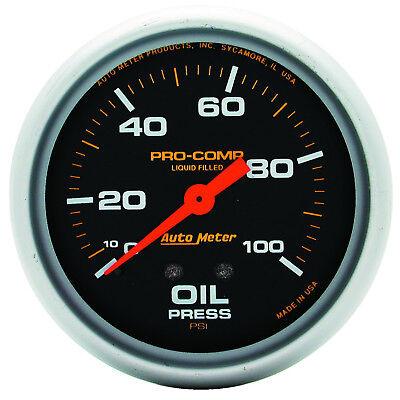 Autometer 5421 Pro-Comp Oil Pressure Gauge, 2-5/8 in., Mechanical