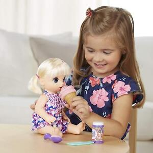 fbf179ad90ac Hasbro Baby Alive Magical Scoops Doll - Blonde Hair for sale online ...