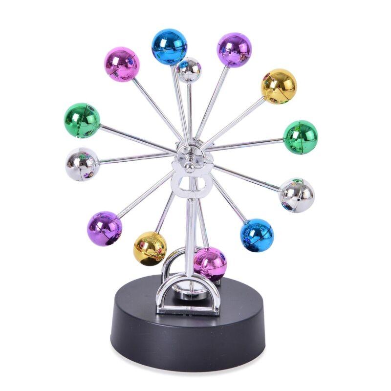 Art Kinetic Balance Multi Color Balls Desk Table Decor