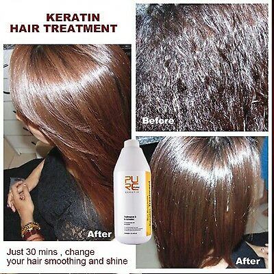 12% Formalin Brazilian Keratin Treatment For Repair Damaged Hair SalonNew 1000ML