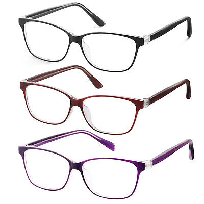 Smart Interview Generic nerd Fashion Rectangular Clear Lens (Nerd Chic Glasses)