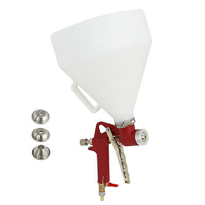 Texture Spray Gun Include 3 Spray Nozzles And Fine Finish Spray Kit