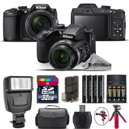 Nikon COOLPIX B500 Camera 40x Optical Zoom + Flash + Case -