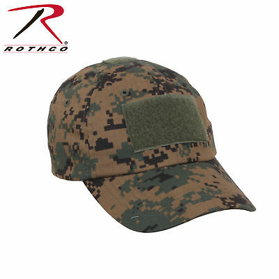 WOODLAND DIGITAL CAMO ROTHCO TACTICAL OPERATORS CAP OPS HAT ONE SIZE  ADJUSTABLE