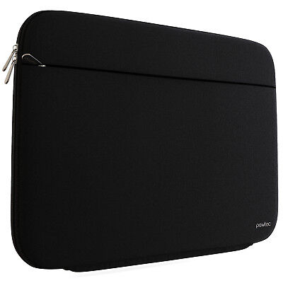 """Pawtec 13"""" MacBook Pro / Air Neoprene Lycra Shockproof Sleeve (Black) for sale  Shipping to India"""