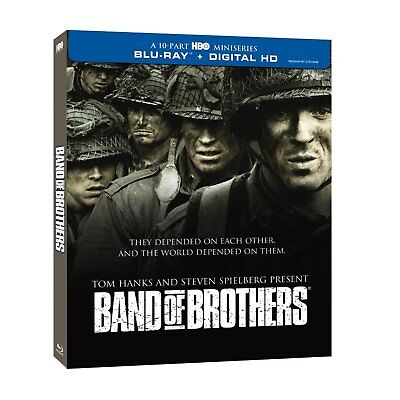 New Sealed Band Of Brothers   The Complete Series Blu Ray Disc   Digital Hd Hbo