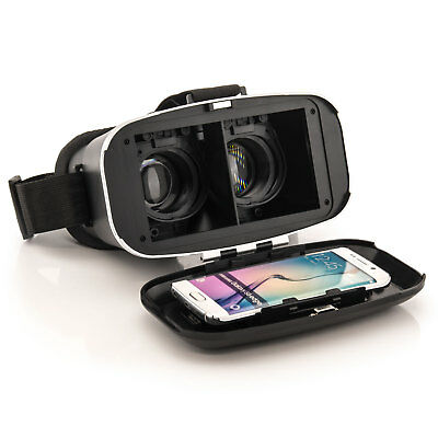 3D VR-Brille für Samsung Galaxy S3 S4 S5 S6 Edge Android Virtual Reality Brille