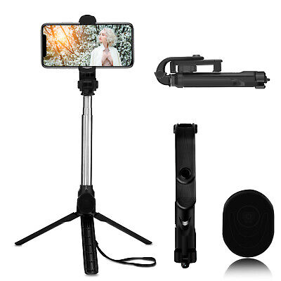Selfie Stick Extendable Wireless Remote Tripod For iPhone 11 Pro Max/XR/XS/X/8/7