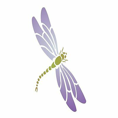 DRAGONFLY Stencil Reusable Painting Best Quality Wall Decoration Furniture Floor Best Craft Furniture