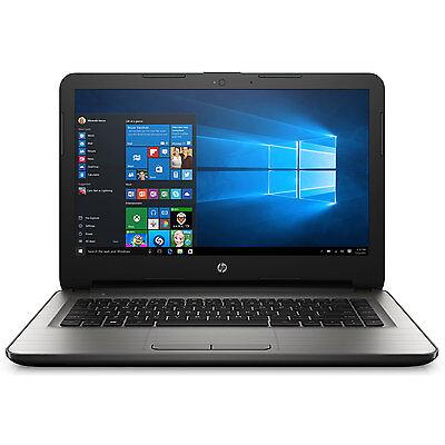 """Hewlett Packard 14-an010nr AMD Quad-Core E2-7110 APU 4GB LPDDR3 14"""" Notebook"""