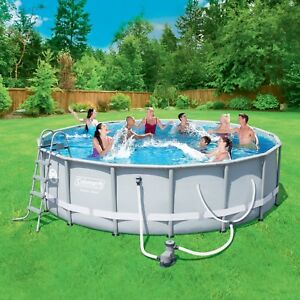 "Coleman 15'x48"" ultra frame pool"