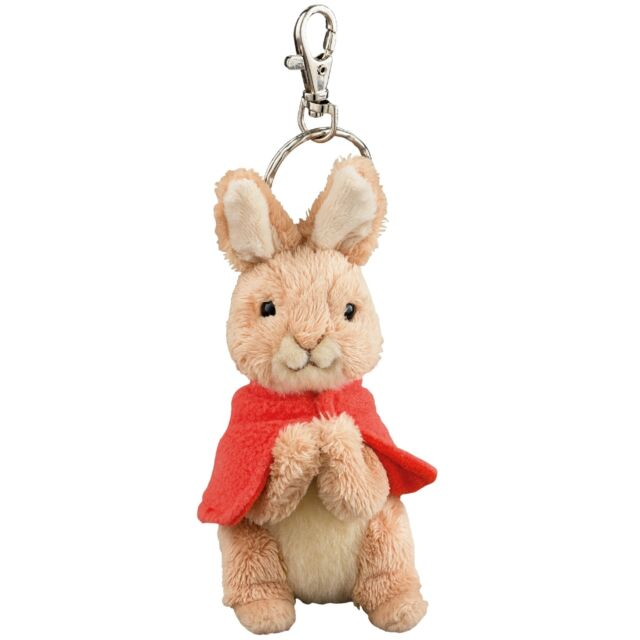 Gund A26444 Beatrix Potter Plush Flopsy Rabbit Key Ring