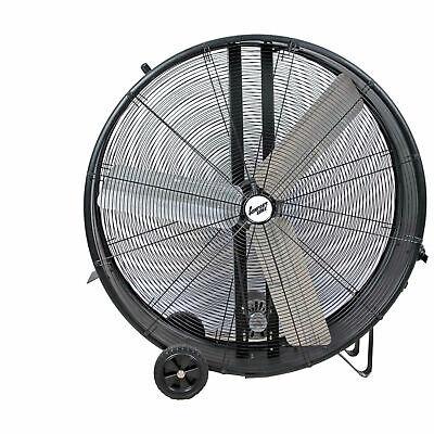 Comfort Zone174 Industrial Drum Fan 42 3 Speeds High Velocity