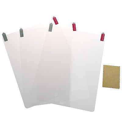 3 Pack Screen Protector with Cleaning Cloth For Apple Ipad 2 H4F3
