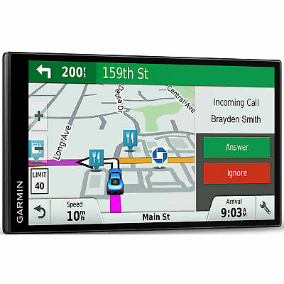 "Garmin DriveSmart 61 NA LMT-S GPS Navigation w/ Smart Features & 6.95"" Screen"