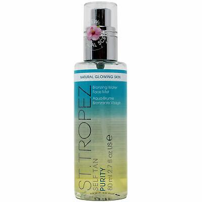 St. Tropez Self Tan Purity Bronzing Water Face Mist 2.7oz Natural Glowing Skin