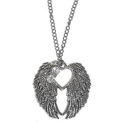 Rear View Mirror Charm - Hanging Ornament - Suncatcher (Angel (Mirrored Angel Wings)