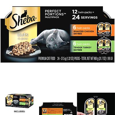 SHEBA PERFECT PORTIONS Soft Wet Cat Food ...