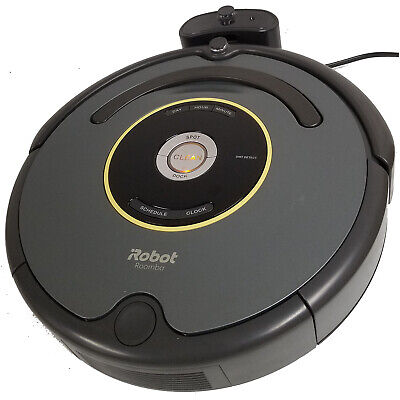 iRobot Roomba 652 Vacuuming Robot R652020 with Charging Dock (Used - Sold As Is)](irobot roomba 652 robotic vacuum cleaner)