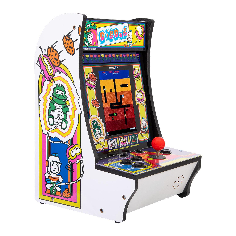 dig dug arcade1up countercade retro gaming machine