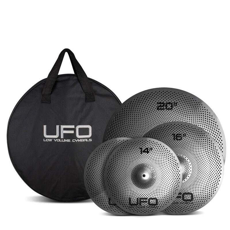 UFO Low Volume Cymbal Set Includes 14/16/20
