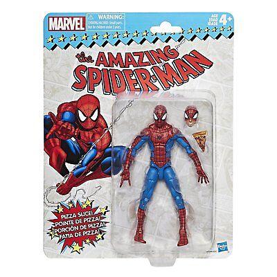 Marvel Legends Vintage Series Spider Man 6  Action Figure Retro   In Stock Mib