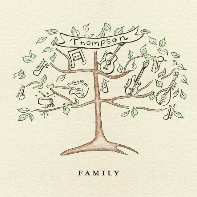 THOMPSON FAMILY CD ALBUM (November 17th, 2014)