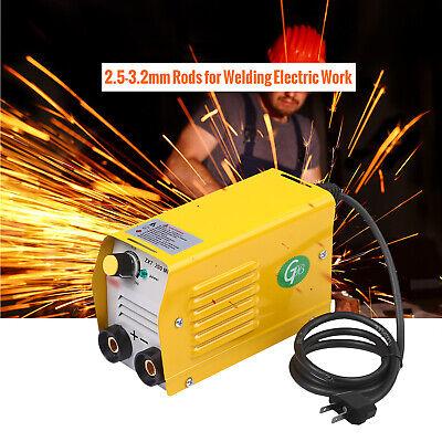 Mini Electric Welding Machine Arc Stick Weld-er Dc Igbt Inverter Zx7-200 V0d9