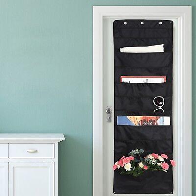 Wall File Organizer Office Folder Hanging Holder Letter Mount Storage 10 Pockets