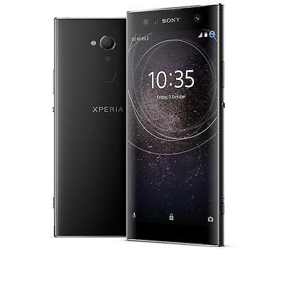 "SONY XPERIA XA2 ULTRA 2018 NERO 6"" 32GB RAM 4GB LTE 4G NO BRAND GARANZIA ITALIA"