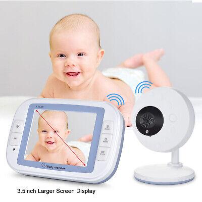3.5'' Video Baby Monitor 2.4GHz Digital Wireless LCD Display Camera Night Vision