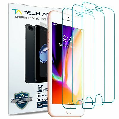 Tech Armor Apple iPhone 7  HD Clear film Screen Protector