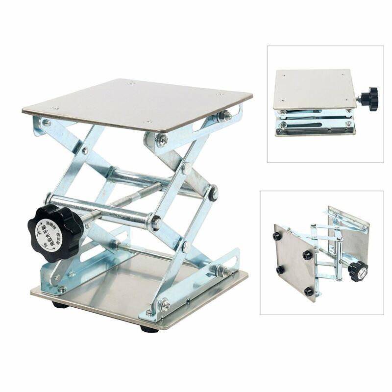 Adjustable Lift laboratory Jiffy Rack Jack Stainless Steel Lab Platform 6x6