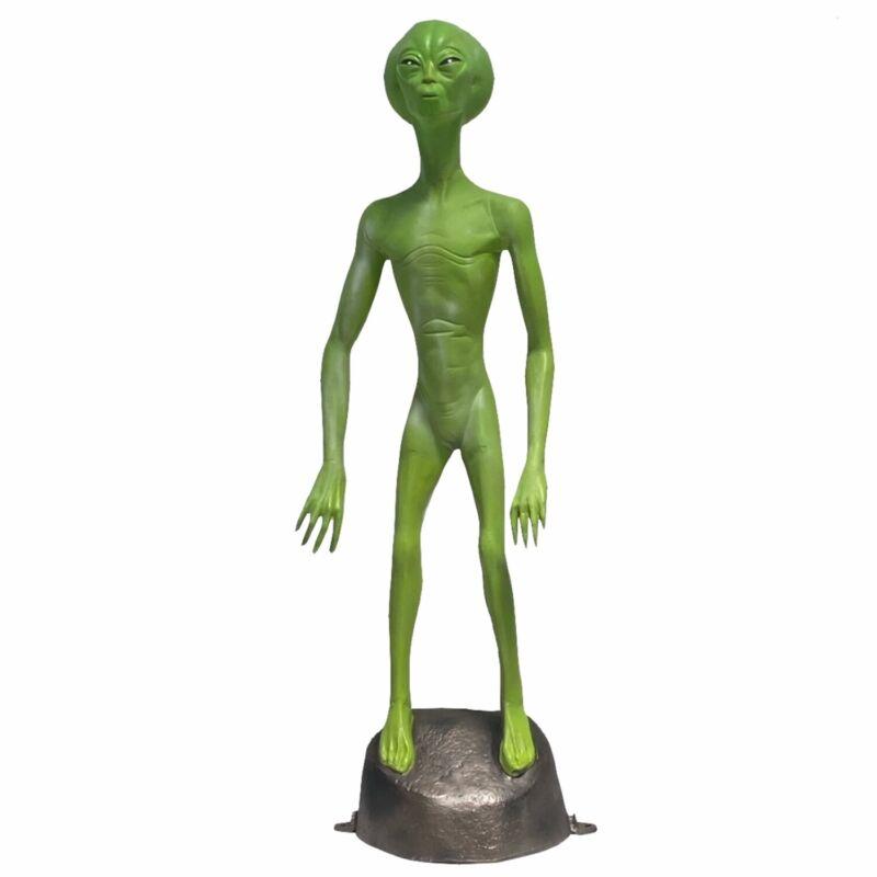 Area 51 Alien Martian Statue for Outdoor or Indoor Use 5 Ft Glow in the Dark